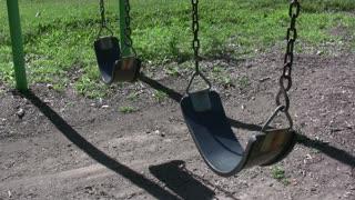 Two Swings in Park