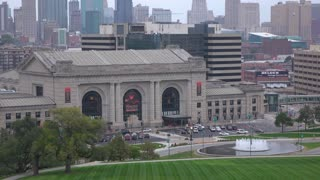 Union Station museum in Kansas City Missouri 4k