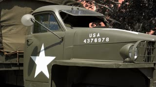 United States military transport vehicle 4k