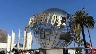 Universal Studios California globe outdoor.