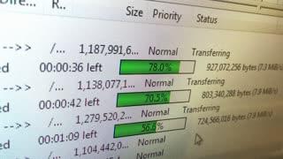 Uploading files through ftp server 4k