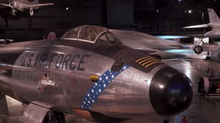 US Air Force aircraft at WPAFB Museum 4k