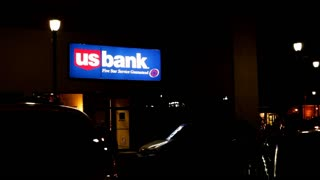 US Bank in downtown Fairborn Ohio