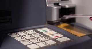 Using ATM to get money 4k