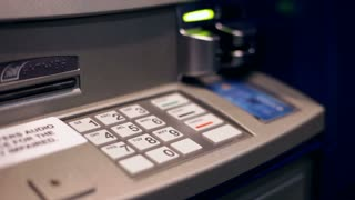 Using Automatic Teller to get Money