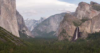 Valley of Yosemite National Park 4k