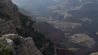 Valleys of beautiful Grand Canyon