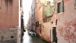 Venice Italy Canals with boats