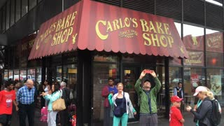 Carlo's bake shop in downtown New York City