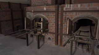 Crematorium interior at Dachau concentration camp 4k