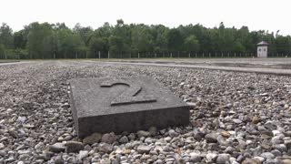 Empty plot of demolished building in Dachau 4k