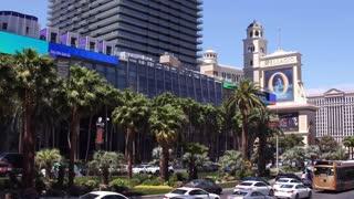 Establishing shot of daytime exterior Las Vegas