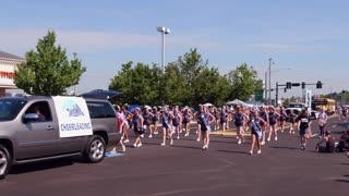 Fairborn Skyhawks Cheerleading in 4th of July Parade 4k