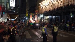 Grace King float in Hermes Parade 2018