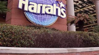 Harrahs Casino in downtown New Orleans 4k