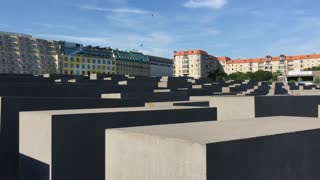Memorial to the Murdered Jews of Europe located in Berlin Germany