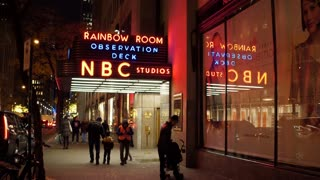 NBC Studios Rainbow Room downtown NYC 4k