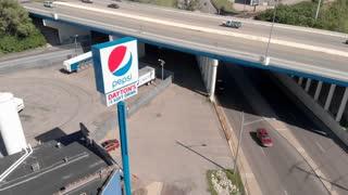 Pepsi Daytons Number 1 soft drink sign