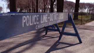 Police line do not cross Chicago Police Department 4k
