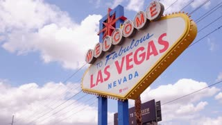 Popular Welcome to Fabulous Las Vegas sign 4k