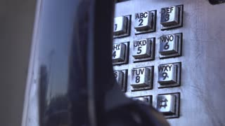 Telephone number dialed at outdated payphone 4k