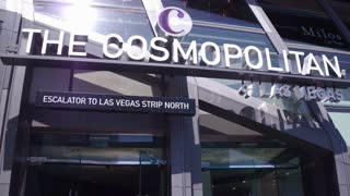 The Cosmopolitan Hotel entrance exterior building 4k