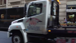 Ups World Services Making Stop In Downtown New York City 4 K