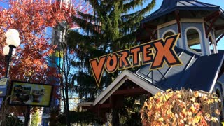 Vortex Rollercoaster entrance at King's Island