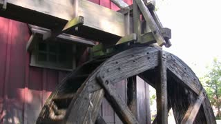Waterwheel Generating Power