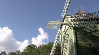 Windmill spinning
