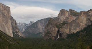 Yosemite National Park valley 4k.