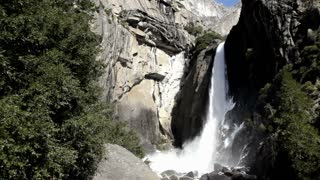 Yosemite Waterfall at national park california