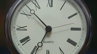 Fast-running clock
