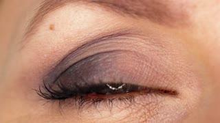 Macro Close-up eye blinking. Slow motion
