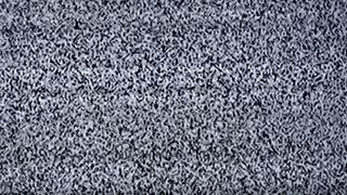 Television static noise, black, white