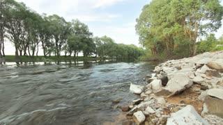 Wild River in spring