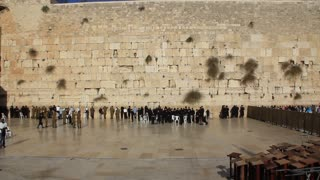 The Wailing Place of the Jews. Wailing Wall. Western Wall. The Western Wall, Wailing Wall or Kotel  is located in the Old City of Jerusalem at the foot of the western side of the Temple Mount