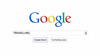 USA, JULY 10, 2014: Google is American multinational corporation and the most popular search engine in the world. Google processes about 1 trillion search queries a year. Search for TRAVEL TOURS