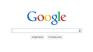 USA, JULY 10, 2014: Google is American multinational corporation and the most popular search engine in the world. Google processes about 1 trillion search queries a year.Search for WATCH ONLINE MOVIES