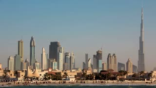 4K (4096x2304) Timelapse: Sand storm in Dubai, United Arab Emirates