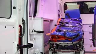 Ambulance car cabin