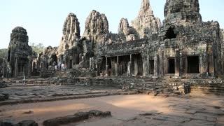 Angkor Thom temple complex in Cambodia