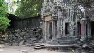 Angkor Thom temple complex in Siem Reap, Cambodia