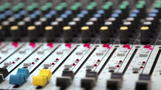 Audio production console