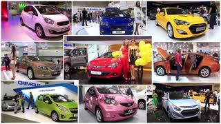 Automotive show montage