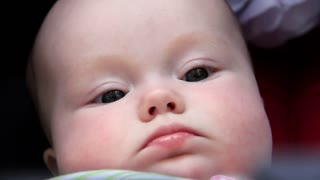 Baby video stock footage