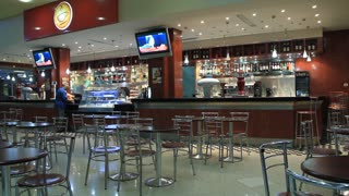 "Bar in airport ""Monastir"", Tunisia"