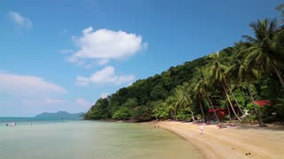 Beautiful view of the Koh Wai island in Thailand