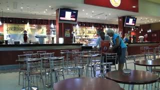"""Cafeteria in airport """"Monastir"""", Tunisia"""