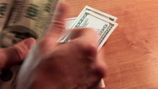 Cash flow video stock footage